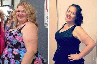 Dopo la gravidanza arriva a 165 kg: dimagrisce e trasforma radicalmente il suo aspetto