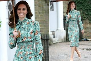 Kate Middleton a fiori per l'anniversario della morte di Lady Diana
