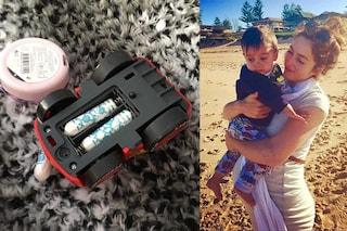 Assorbenti interni come batterie, la mamma condivide l'esilarante gesto di suo figlio