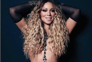 Mariah Carey in topless sfoggia un corpo perfetto: ha di nuovo esagerato con Photoshop?