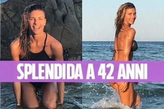 Martina Colombari, 42 anni e non sentirli: ecco come si tiene in forma la modella