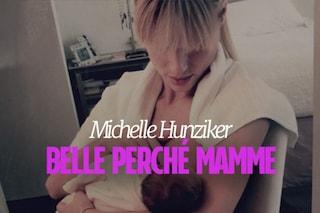 Michelle Hunziker alle neo mamme: 'Siate fiere dei chili in più'