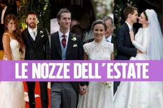 """Matrimoni """"al sole"""": le star che sono convolate a nozze nell'estate 2017"""