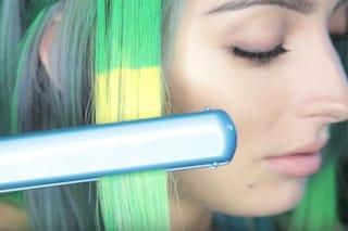 La tinta per capelli che cambia colore con il calore