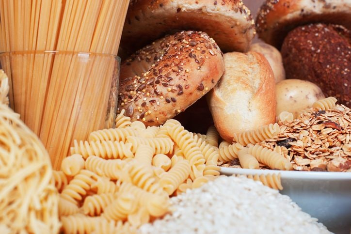 dieta con pasta e pane