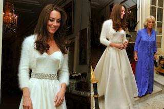 Kate Middleton ha indossato due vestiti al suo matrimonio: ecco il secondo abito bianco