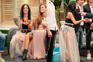 Giulia De Lellis mostra l'intimo: al GF Vip indossa un gonna in tulle trasparente