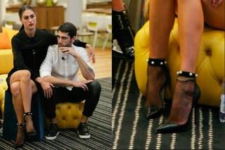 Cecilia Rodriguez, al Grande Fratello Vip spopolano i calzini con le perle