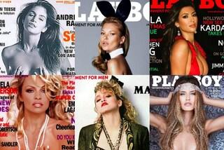 Da Cindy Crawford a Bianca Balti: le star che hanno posato nude su Playboy