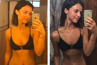 Perde 12 kg e il suo corpo cambia radicalmente: Lucy mostra le foto della trasformazione