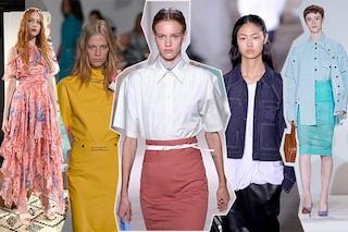 Camicia bianca e giacca maschile: 9 trend dalle passerelle di New York