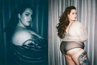 Tess Holliday in intimo ma non usa Photoshop: la plus-size va fiera dei suoi difetti