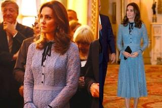 Il primo look premaman di Kate Middleton: l'abito in pizzo è quasi sold-out