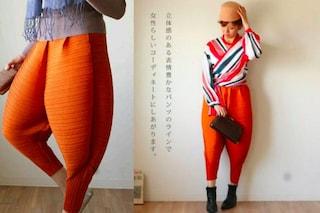 Pantaloni come cosce di pollo, speriamo che non saranno mai di moda