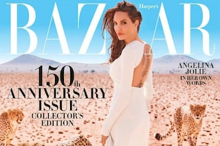 Angelina Jolie salva i ghepardi e li porta in copertina