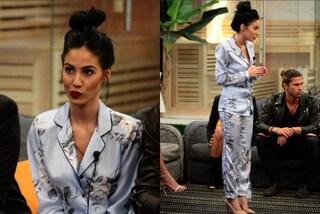 Giulia De Lellis e la passione per i look da notte: indossa ancora il pigiama al GF Vip