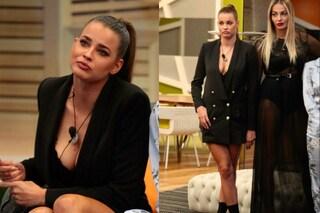 Ivana Mrazova ricicla il look di Cecilia Rodriguez: anche lei indossa la giacca da uomo