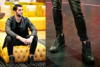 Jeremias come Belén e Cecilia Rodriguez: ha una passione per scarpe griffate