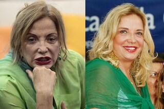 Simona Izzo prima e dopo il make up, ecco com'è senza trucco al Grande Fratello Vip