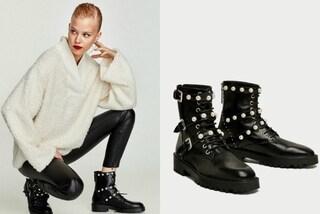 Gli stivaletti con le perle di Zara: ecco quali sono le scarpe più desiderate dell'autunno