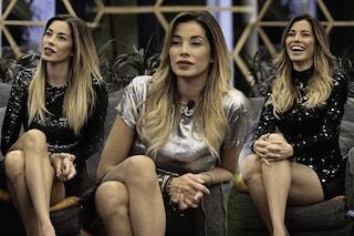 Aida Yespica e la passione per le paillettes: al GF Vip solo abiti lucenti