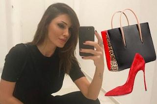 Anna Tatangelo e la passione per scarpe e borse firmate