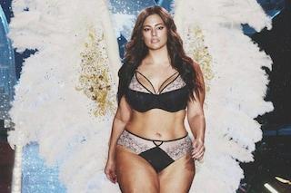 Ashley Graham contro Victoria's Secret: anche la curvy indossa le ali d'angelo