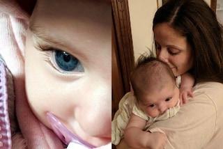 """""""Non serviranno ciglia finte"""": Clio Make-up mostra gli occhi della figlia sui social"""