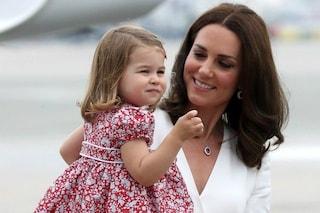 Kate Middleton rivela il colore preferito della principessa Charlotte: ecco qual è