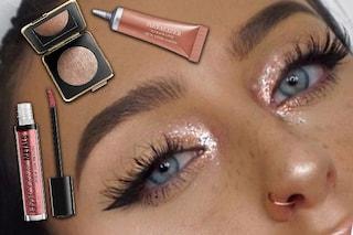 Il make up di tendenza per l'inverno 2017 è metallico: ombretti, gloss e rossetti da provare