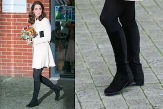 Kate Middleton, in gravidanza solo tacchi bassi