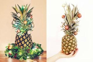 Ananas di Natale: la nuova moda che spopola sui social