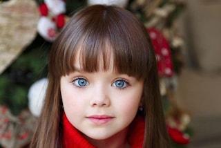 Anastasia Knyazeva, a 6 anni è la bambina più bella del mondo