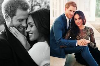 Lui in blu, lei con sexy trasparenze: Henry e Meghan nelle foto ufficiali del fidanzamento