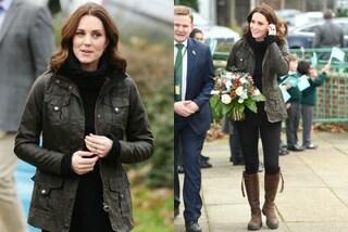 Kate Middleton contro gli sprechi, indossa gli stessi stivali dal 2011