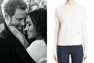 Il mistero del maglione bianco di Meghan Markle: è firmato da Victoria Beckham?