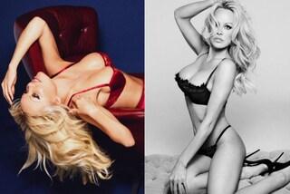 50 anni e non sentirli: Pamela Anderson è ancora una volta testimonial di lingerie
