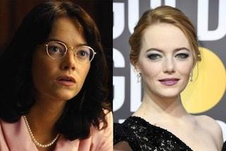 Da Emma Stone alla Streep: le incredibili trasformazioni delle star con il trucco