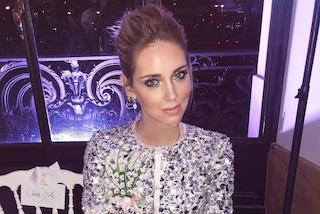 L'abito da sposa di Chiara Ferragni: la fashion blogger dà un indizio ai fan