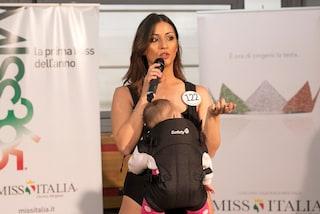 """Alessia Spagnulo, la Miss con il bebè, alle finali del concorso: """"Porterò Chloé con me"""""""