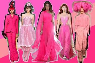 Vedo rosa: da Dior a Chanel nell'Alta Moda di Parigi sfila la pink revolution