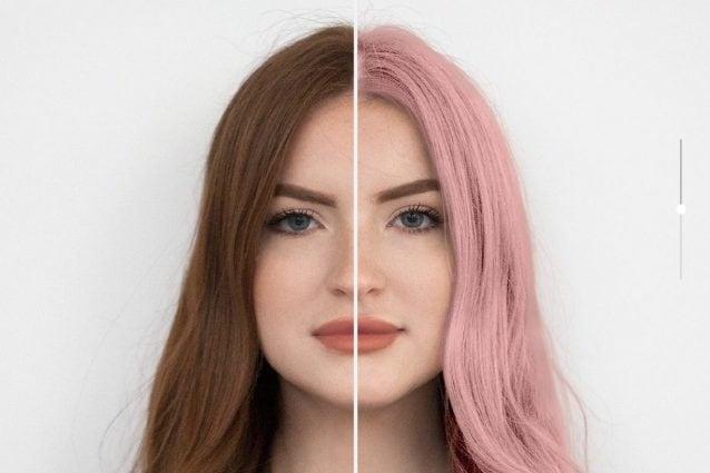 Vuoi cambiare colore di capelli  Puoi scoprire come stai con un app e3186552643a