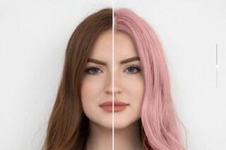 Vuoi cambiare colore di capelli? Puoi scoprire come stai con un'app