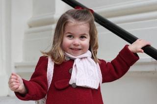 La principessa Charlotte è una leader nata, lo dice la regina Elisabetta II