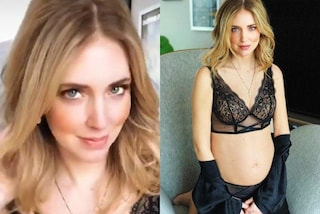 Sexy mamma: intimo nudo per Chiara Ferragni in gravidanza