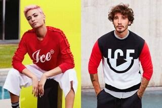 Elodie e Stefano De Martino insieme per Iceberg: sono i nuovi volti della linea Ice Play