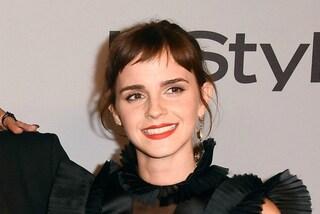 La trasformazione di Emma Watson: l'attrice passa alla frangetta