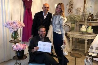 Filippa Legerback e Daniele Bossari, i preparativi per le nozze da Enzo Miccio