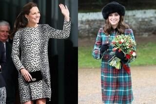 Look premaman a confronto: com'è cambiato lo stile di Kate Middleton nelle tre gravidanza