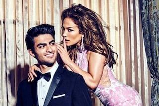 Matteo, il figlio di Bocelli vuole fare il modello e posa con Jennifer Lopez